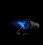 Llama del mechero de gas Fotografía de archivo libre de regalías