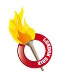 Llama olímpica libre illustration