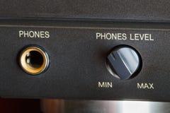 Llama por teléfono al zócalo Fotos de archivo