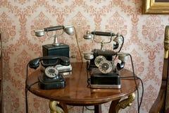 Llama por teléfono a retro Fotografía de archivo libre de regalías