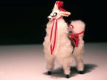 Llama statue Royalty Free Stock Images