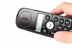 Llamada de 911 Imágenes de archivo libres de regalías