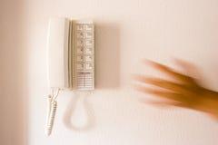 Llamada de emergencia Fotografía de archivo libre de regalías