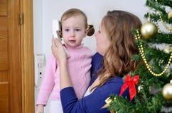 Llamada de la Navidad Fotos de archivo libres de regalías
