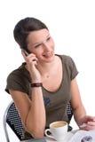 Llamada de mañana Imagen de archivo libre de regalías