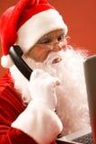 Llamada de Santa Foto de archivo libre de regalías