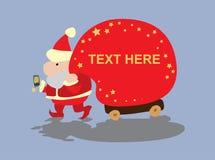Llamada de Santa Imagen de archivo libre de regalías