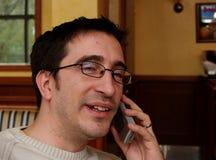 Llamada de teléfono Fotografía de archivo