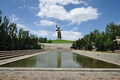 Llamada del monumento de la patria Imagen de archivo libre de regalías