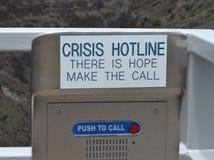 Llamada para la ayuda Fotografía de archivo libre de regalías