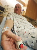 Llamada para la enfermera Foto de archivo