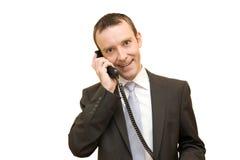 Llamada telefónica Imagen de archivo libre de regalías