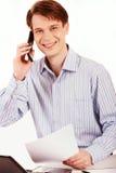 Llamada telefónica Fotografía de archivo libre de regalías