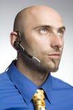 Llamada telefónica del hombre Imagen de archivo libre de regalías