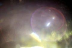 Llamarada de la lente del arco iris Foto de archivo