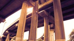 Llamarada de la lente del paso superior Fotografía de archivo