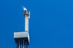 Llamarada del gas Foto de archivo libre de regalías