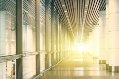 Llamarada ligera a través del edificio Imagen de archivo