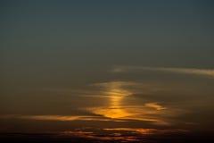 Llamas anaranjadas hermosas de la puesta del sol Imagenes de archivo