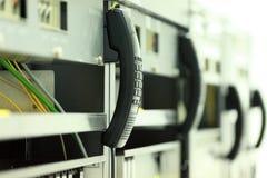 Llame por teléfono al tubo para el equipo de comunicación Foto de archivo libre de regalías