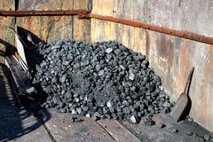 LLANBERIS, WALES/UK - 10月7日:LLanberis板岩的M煤炭围场 免版税库存照片