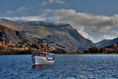 Llanberis Stock Image
