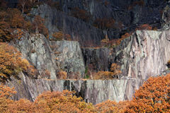 Llanberis In Autumn Stock Photography