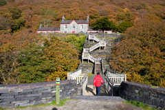 Llanberis In Autumn Royalty Free Stock Photo