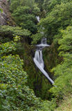 Llanberis Falls, Ceunant Mawr Waterfall Royalty Free Stock Images