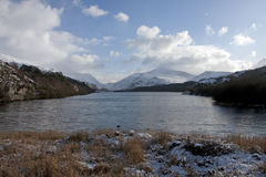 Llanberis and Llyn Padarn Royalty Free Stock Images