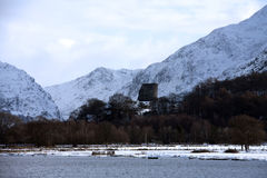 Llanberis and Llyn Padarn Royalty Free Stock Photography
