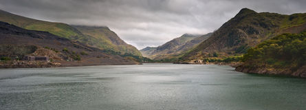 Llanberis Pass towards Snowdon Royalty Free Stock Photo