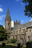 Llandaf Cathedral, Wales Stock Images