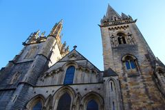 Llandaff-Kathedrale in Cardiff, Wales, Großbritannien Stockbild