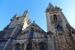 Llandaffkathedraal in Cardiff, Wales, het UK stock afbeelding
