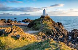 Llanddwyn-Insel stockfoto