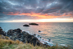 Llanddwyn-Insel in Wales stockbild