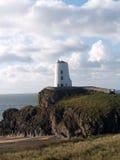 Llanddwyn island Twr Mawr light house Stock Image