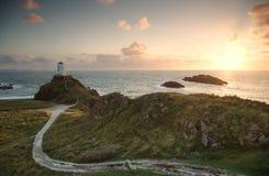 Llanddwyn latarnia morska Obraz Royalty Free