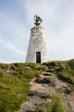 Llanddwyn latarnia morska, Północny Walia Zdjęcie Stock