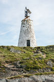 Llanddwyn lighthouse, North Wales Stock Image