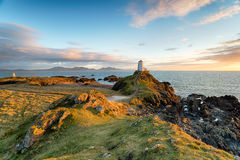 Llanddyn ö i Anglesey Royaltyfri Fotografi