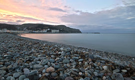Llandudno beach front Stock Photo