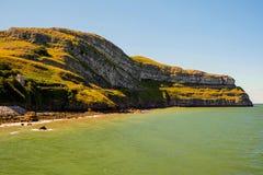 Llandudno coast. Rocky coastline at Llandudno, North Wales Stock Photos