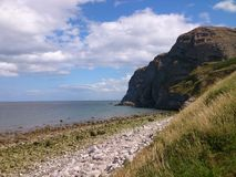 llandudno coastline stock photo