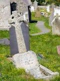 Llandudno, North Wales - grave stones Royalty Free Stock Photo