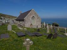 Llandudno, North Wales - graveyard and church Royalty Free Stock Image