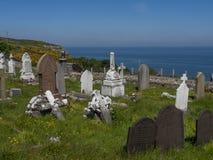 Llandudno, North Wales - graveyard Stock Photos