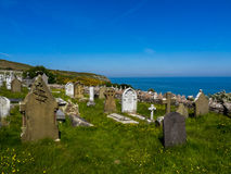 Llandudno, North Wales - graveyard Stock Images