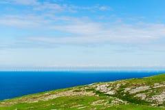 Llandudno Overzeese Voorzijde in Noord-Wales, het Verenigd Koninkrijk Stock Foto's